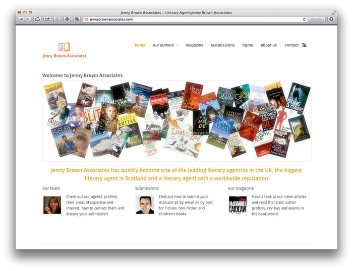 Jenny Brown Associates homepage