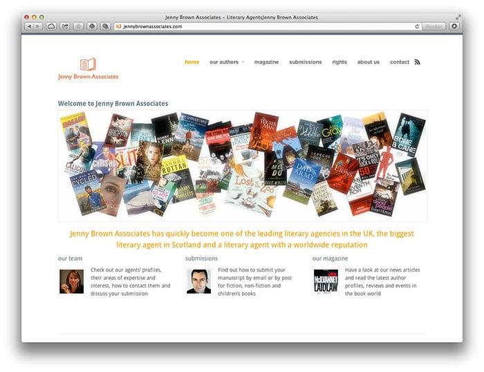 Jenny Brown Associates homepage